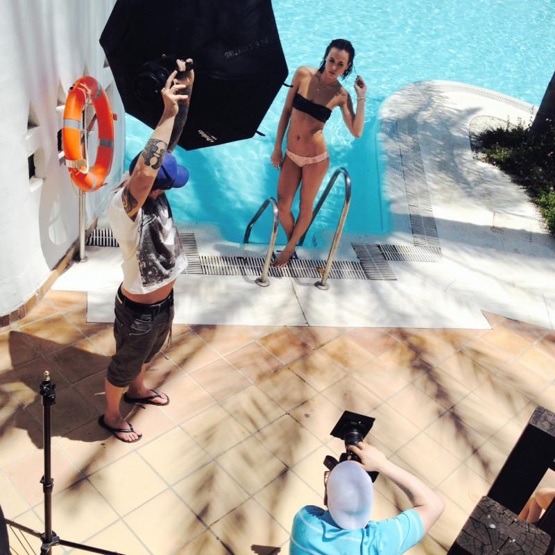 BTS TOWIE calendar shoot Marbella