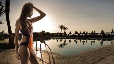 Marbella pool am Charlotte